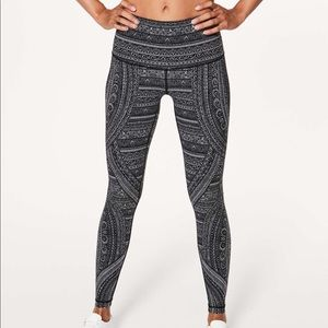 "lululemon Wunder Under Entwined 28"" Tight"